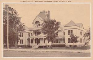 Wisconsin Waupaca Fairchild Hall Wisconsin Veterans' Home