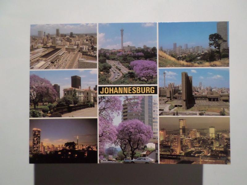 SOUTH AFRICA AFRIQUE DU SUD SUID AFRIKA JOHANNESBURG MULTI VIEWS 1960years PC z1