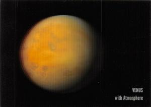 3D Postcard, of Plant Venus with and Without Atmosphere by MBM Systems 67U