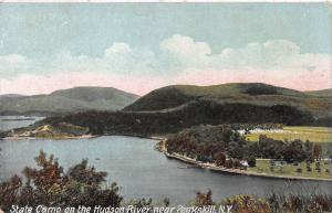 State Camp on the Hudson Near Peekskill, New York, Early Postcard, Unused