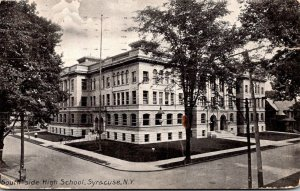 New Yorl Syracuse South Side High School 1908
