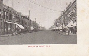 FARGO , North Dakota , Pre-1907 , Broadway