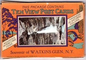 10 Postcards Pack, Watkins Glen NY