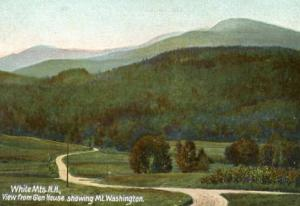 NH - Mt. Washington, Viewed from the Glen House