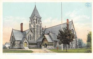 Portsmouth NH Detroit Publishing #11075 Christ Church~Russian Peace Service 1907