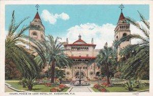 Florida Saint Augustine Court Ponce Leon Hotel