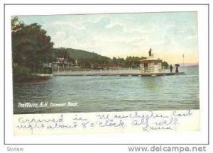 Edincott Rock, The Weirs, New Hampshire, 1905