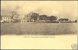 gambia gambie, BATHURST, General View (ca. 1910)