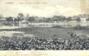 Gezicht op Goebeng van Kajoon uit gezien Soerabaia, India 1910 Missing Stamp