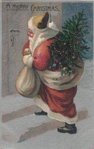 CHRISTMAS, 1900-10s; Santa Claus