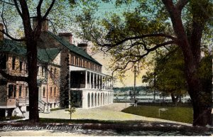 Fredericton, New Brunswick, Canada - A view of the Officer's Quarters - c1908