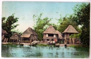 Pasig River, Manila, P.I.