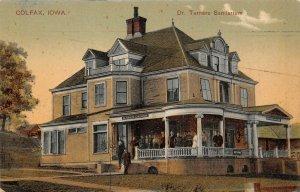 LP97 Colfax Iowa Postcard Dr. Turners Sanitarium