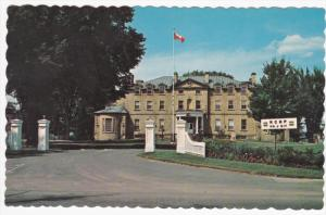 R.C.M.P. Headquarters, FEDERICTON, New Brunswick, Canada, 40-60's