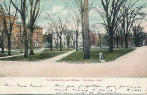 The Campus at Harvard College - Cambridge MA, Massachusetts - pm 1909 - UDB
