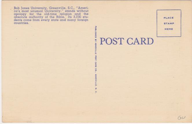 The Mack Library - Bob Jones University - Greenville SC, South Carolina - Linen