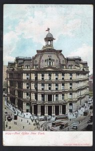 New York City Post Office with Glitter - pm1907 - Und/B