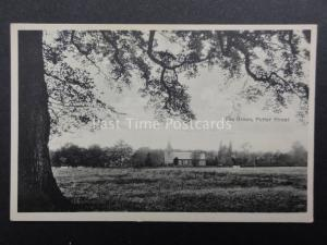 Essex: The Green POTTER STREET showing Church - Old Postcard