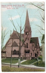 South Paris, Me, Baptist Church