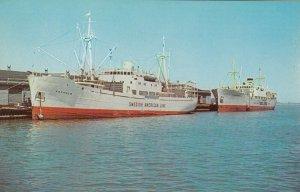 Swedish American Line Ship VAXHOLM , Milwaukee, Wis. , 40-60s