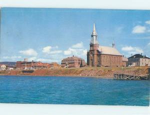Pre-1980 TOWN VIEW SCENE Cape Breton Nova Scotia NS p9663