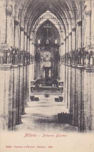 Italy Milano Interno Duomo