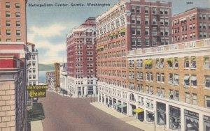 Washington Seattle Metropolitan Center Street Scene sk2623