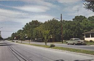 North on Bayard Avenue , REHOBOTH BEACH , Delaware , 50-60s