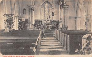 England Interior of Woodford Church (Essex)