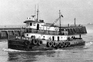 ap0877 - American Tug - Pye Theriot , built 1963 - photo 6x4
