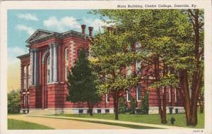 Kentucky Danville Main Building Centre College 1944 Curteich
