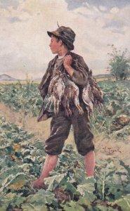 V. TRSEK: Hunter Boy w/ birds , 00-10s