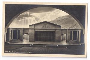 Passionstheater Oberammergau Germany RPPC Real Photo 1930