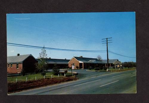 VA Deluxe Motor Court Motel WAYNESBORO VIRGINIA PC