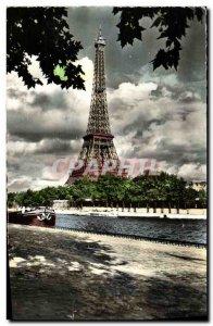 Modern Postcard Paris Eiffel Tower Crowsnest Capital
