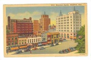 Mansfield Skyline, Mansfield, Ohio, 30-40s