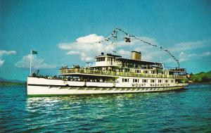 Motor Vessel Mount Washington Lake Winnipesaukee New Hampshire
