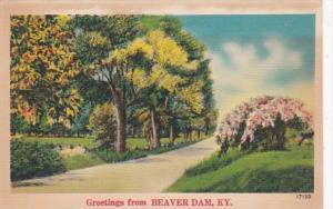 Kentucky Greetings From Beaver Dam