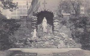 Maryland Baltimore Grotto Saint Frances Convent And Academy