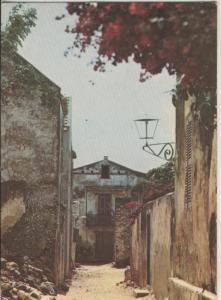 Postal 009370: Images du Senegal: Rue de Eglise ile de Goree