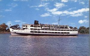 Potamac River Cruise Ship - Wilson Line, Washington, DC