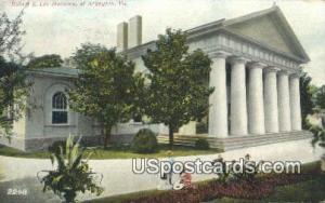 Robert E Lee Mansion
