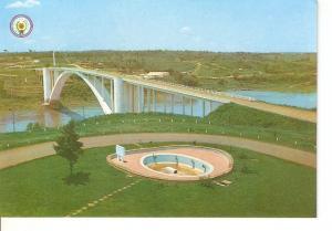 Postal 029376 : Paraguay Puente de la amistad Paraguay-Brasil