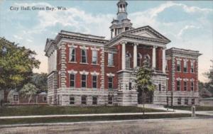 Wisconsin Green Bay City Hall Curteich