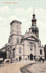 Exterior, The Basilica,Quebec,Canada,00-10s