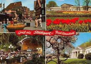 Gruess aus Stuettgart Bad Cannstatt Konzert Park Promenade