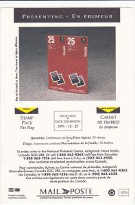 Stamp Pack The Flag 1991 Canada Post Corporation
