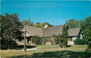 Pere Marquette State Park Illinois~Hennepin Cottage~1950s Postcard