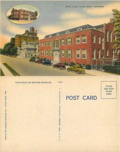 Boys Club in Little Rock, Arkansas, AR, Linen