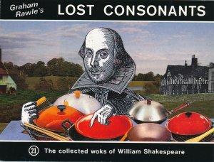 Graham Rawle's Lost Consonants - Humor - Pun - Woks of Shakespeare